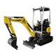 Tracked Zero Tail Excavators - EZ17