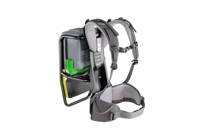 ACBe - battery powered backpack internal vibrator